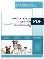 Proyecto-programa de Tv