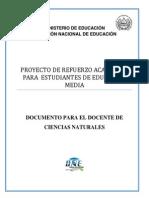 ACTIVIDADES DE REFUERZO - PRUEBA DE DIAGNOSTICO - CIENCIAS_NATURALES 1° BACH