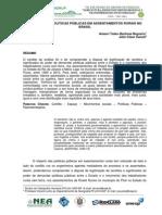 USP 01 POLÍTICAS E ASSENTAMENTOS