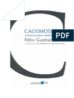Guattari F Lix - Caosmose - Um Novo Paradigma Est Tico