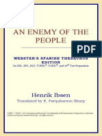 [Henrik Ibsen] an Enemy of the People (Webster's Spanish