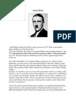 Adolf Hitler and Christianity