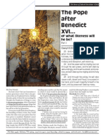 The Pope after Benedict XVI... of what likeness will he be? Part 1  - April 2013