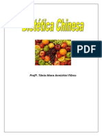 Apostila Dietetica Chinesa - Prof Tania