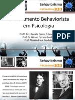 Psicologia Behaviorismo 2014