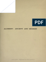 Alchemy - Ancient and Modern - Redgrove