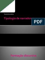 Tipologia de Narradores - Aula 02