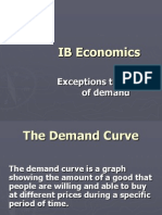 Exceptions to the Law of Demand-8
