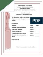 Trabajo de Estadistica 2 Hiperglusemia