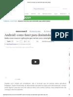 Android_ como fazer para desinstalar apps nativos [vídeo]