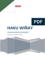 Publicaciones en Medios - Haku Wi%C3%B1ay