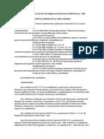 Aprueban 66 Normas Técnicas del Reglamento Nacional de Edificaciones - DECRETO SUPREMO Nº 011-2006-VIVIENDA