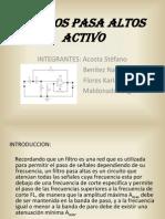 88402047 Filtros Pasa Altos Activo