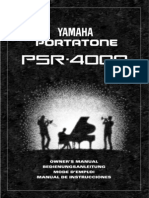 Manual_XPS-10 pdf | Synthesizer | Usb Flash Drive