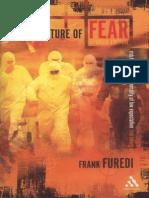 Culture of Fear-Frank Furedi