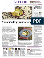 Living Food - York Daily Record/Sunday News - Feb. 28, 22014