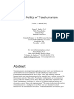 The Politics of Transhumanism.docx