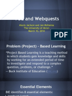 pbl and webquests