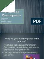 childhood development powerpoint