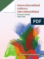 PDF Interculturalidad criìtica y (de)colonialidad