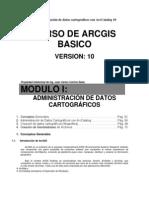 Modulo I. Admon de datos geográficos ArcCatalog