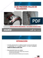 3. 6 Formas de Prevenir Fallas en Soldadura