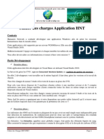 cahier des charges ppe7