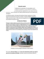 Derecho Social, Publico y Privado