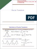 Fourier TransformsZ