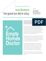 Empty Homes Doctor - impact report summary