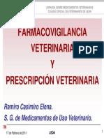 Farmacovigilancia y Prescripcion