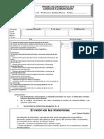 Diagnóstico_ Lenguaje_2014 - 6°