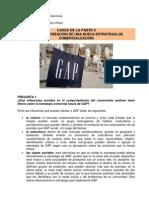 Solución Caso GAP (Casos de la Parte II)