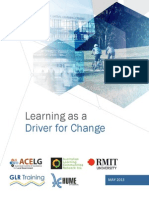 ACELG Report Learning as Driver for Change 03062013