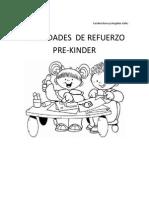 Actividades de Refuerzo Pre Kinder