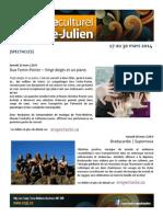 Infolettre CCPJ 17.03.14