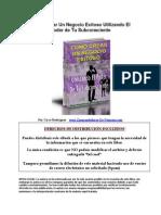 Como Crear Negocios Exitosos Aprovechando El Poder Del Subconsciente(1)