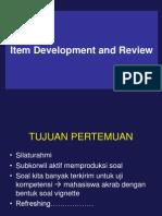 MATERI Item Development&Review 5 Maret 2014
