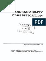 Handbook_210 Land Capacibility Soil_1961