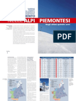 Innevamento nelle Alpi Piemontesi