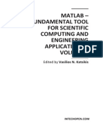 MATLAB - A Fundamental Tool for Scientific Computing and Engineering Applications (Vol 3)