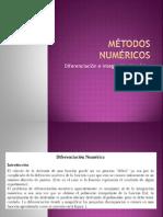 8 Diferenciacion e Integracion Numerica