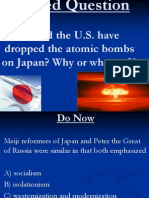 Lesson 85 Atomic Bombings