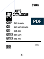 Yamaha Yz85 Parts Catalogue