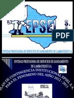 Plan de Contingencia 2012 -2013