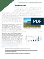 Tantangan Dalam Aplikasi Photovoltaic