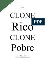 CloneRicoClonePobre