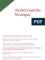 Geografía Del Canal En Nicaragua