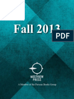 Westview Press Fall 2013 catalog