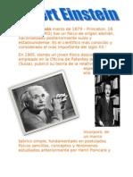 Albert Einstein Marzo de 1879
